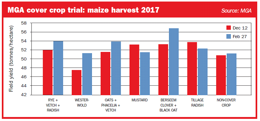 Maize trials point way to raising crop output